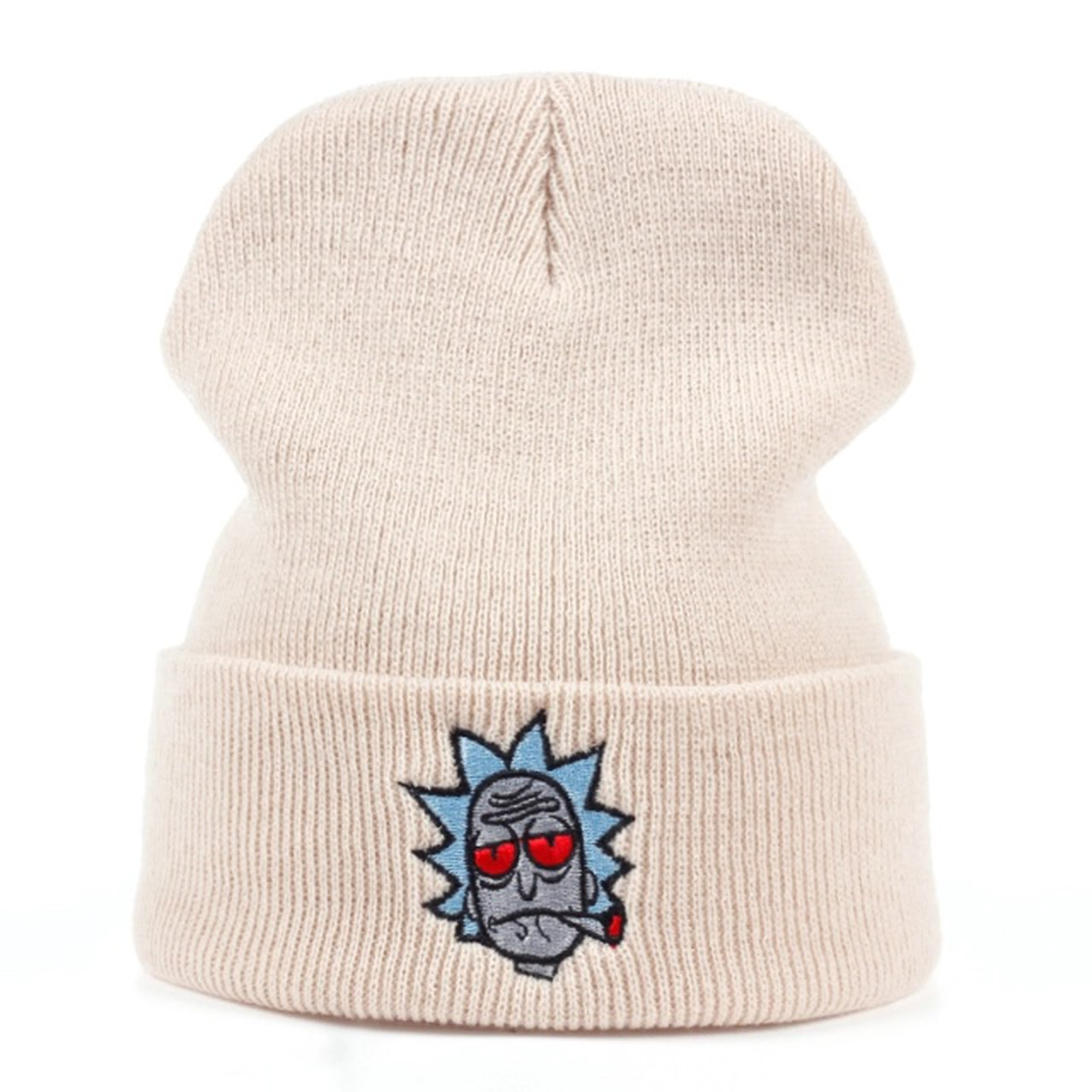 Rick and morty beanie Rick with a j stoned One size comfy 2 - Depop 3ba4cbd61c5