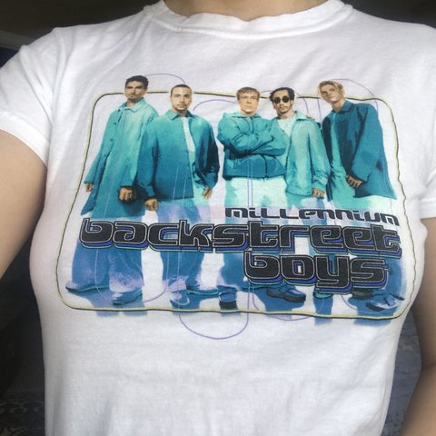 d38a3ccfc @vivalasammie. last year. Centerville, United States. Super cute Backstreet  Boys T-shirt!