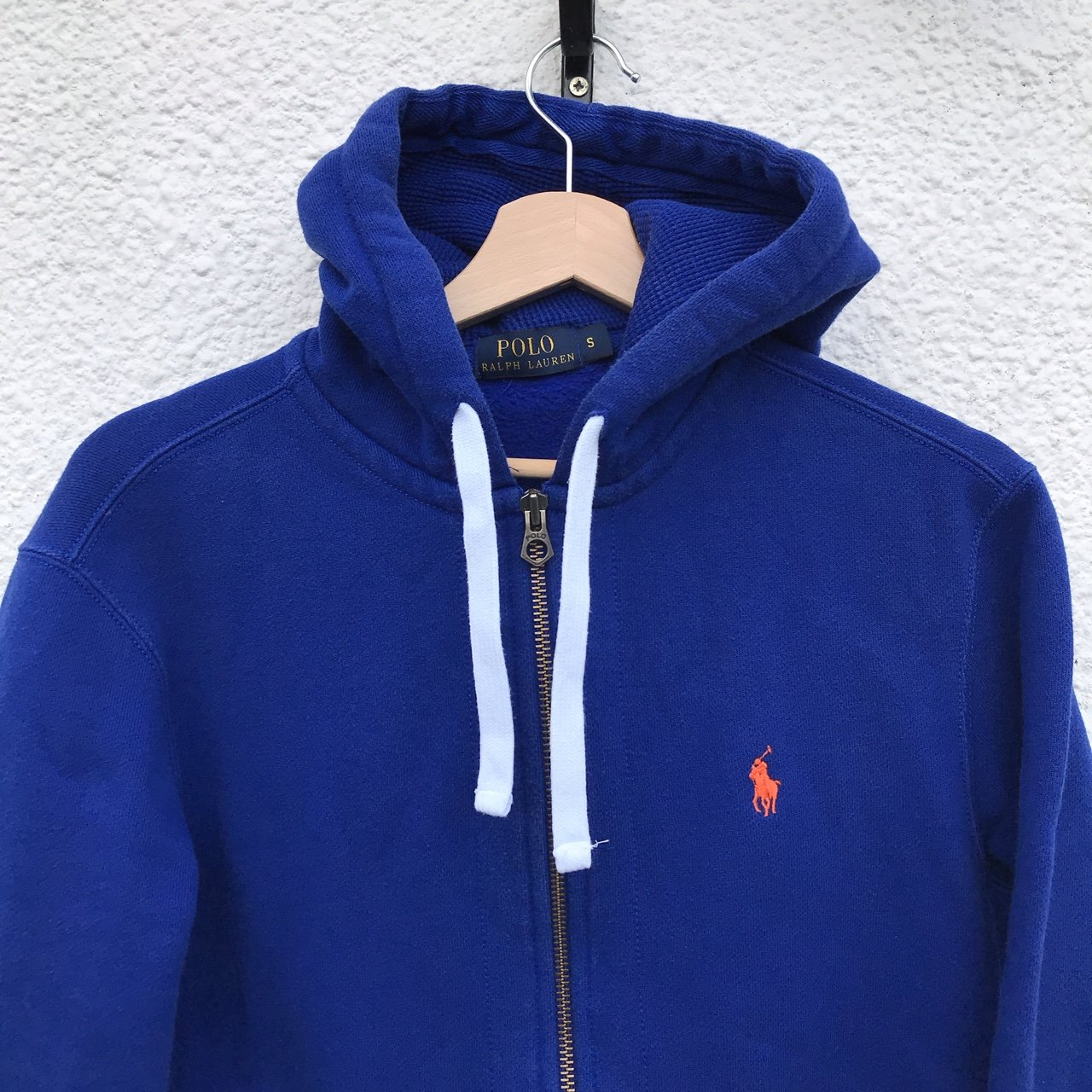 Men S Polo Ralph Lauren Zip Up Hoodie 7 5 10 Condition Depop