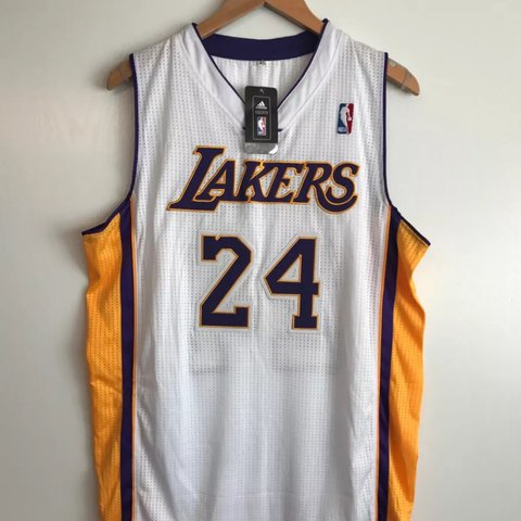 902edfce65ba Official NBA Store Adidas Swing man Authentic Lakers Kobe XL - Depop