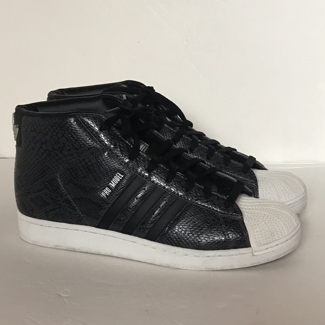 adidas superstar high all black
