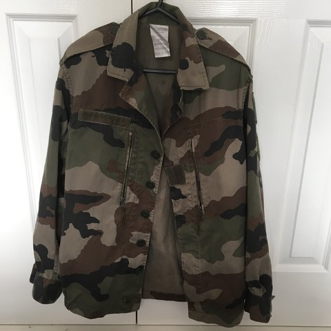623ea2368b04b REDUCED!! Urban Outfitters Renewal vintage camo jacket - a - Depop