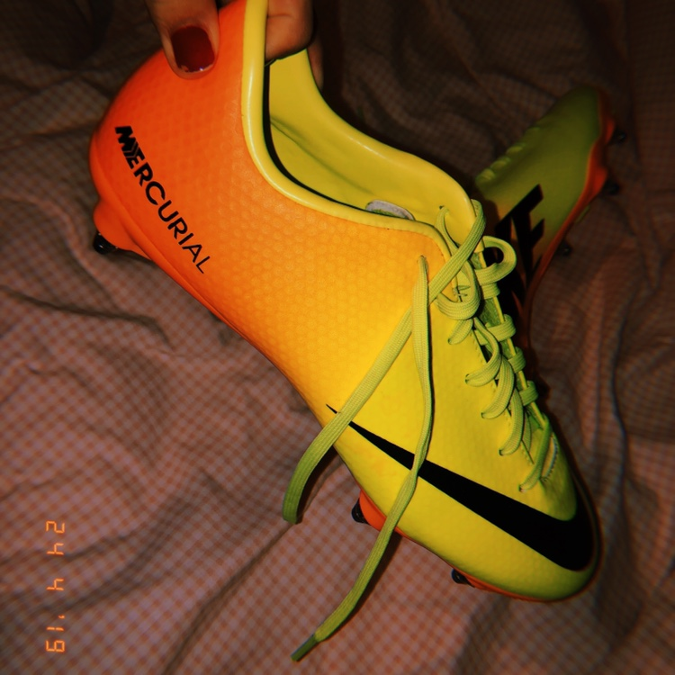 Nike Mercurial football boots with