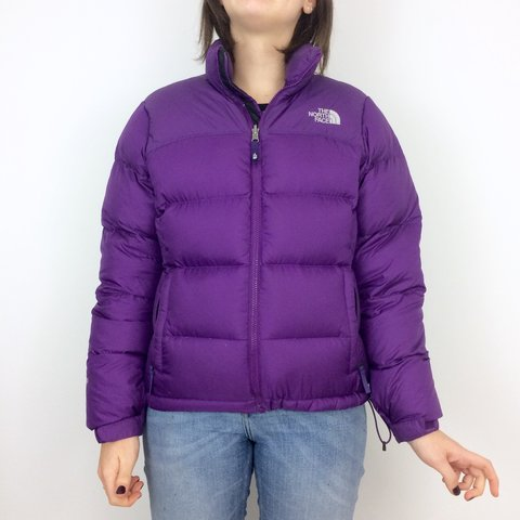 The North Face Purple 700 Down Filled Nuptse Puffer Jacket • - Depop 0cc5c92c0