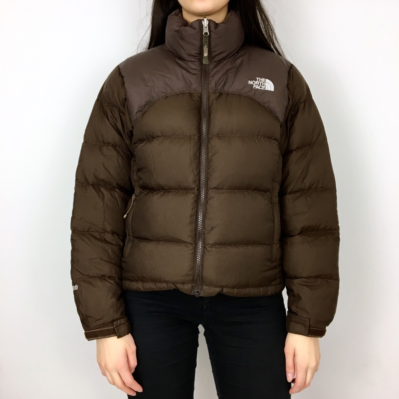 ab2e058a3 The North Face Brown 700 Down Filled Nuptse Puffer... - Depop