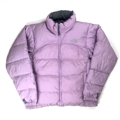 The North Face 700 Down Filled Lilac Puffer Jacket • size M c44051a6c