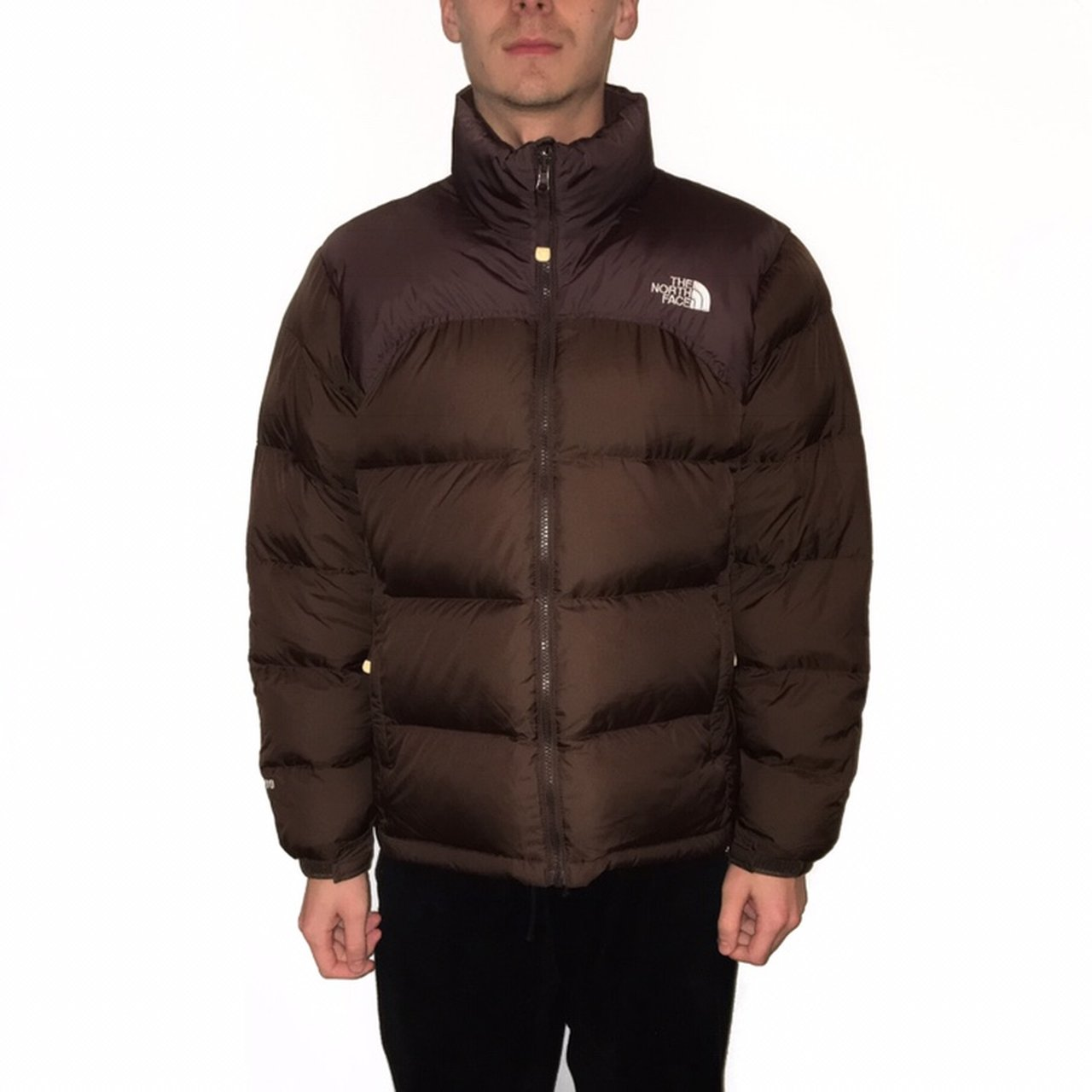 The North Face Brown 700 Down Filled Nuptse Puffer Jacket 🍫 - Depop d46aacc28