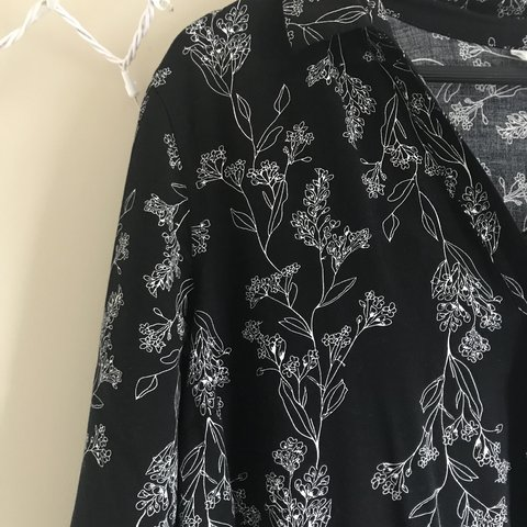 f06dd21eb8bc Black and white romper. Romper from old navy in an xxl. I so - Depop