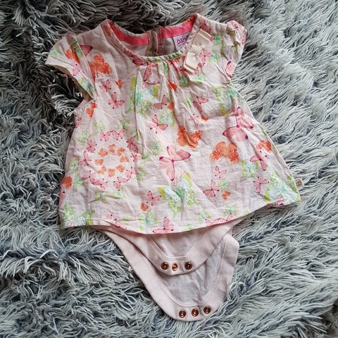 9ede4f7dc Ted Baker Baby Girl Butterfly top Size 3-6 months UK - Depop
