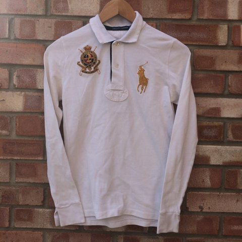 b332da4b6 Ralph Lauren big pony long sleeve polo shirt   tee - will a - Depop