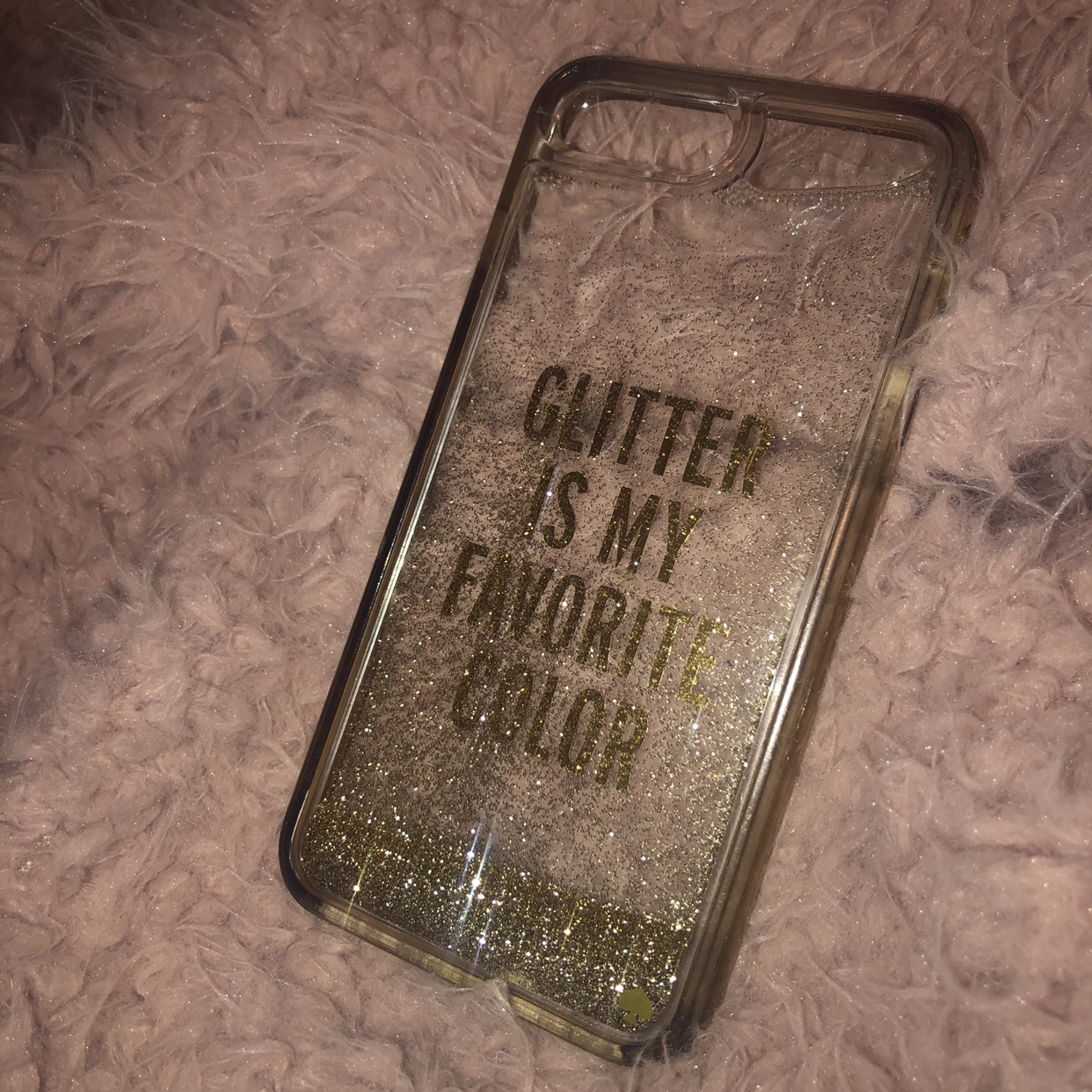 "huge discount 9bda8 8fab1 Kate Spade ""GLITTER IS MY FAVORITE COLOR"" iPhone... - Depop"