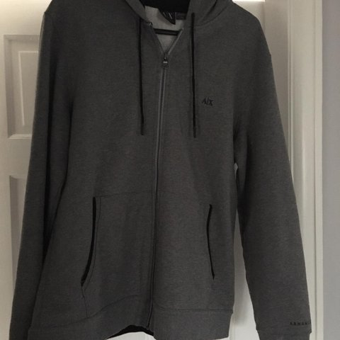 62339e983 Men's Armani tracksuit, been worn once for a few hours and - Depop
