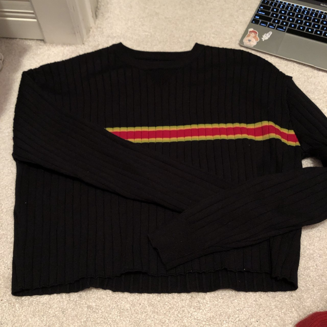 black long sleeve with a 9fbef9237