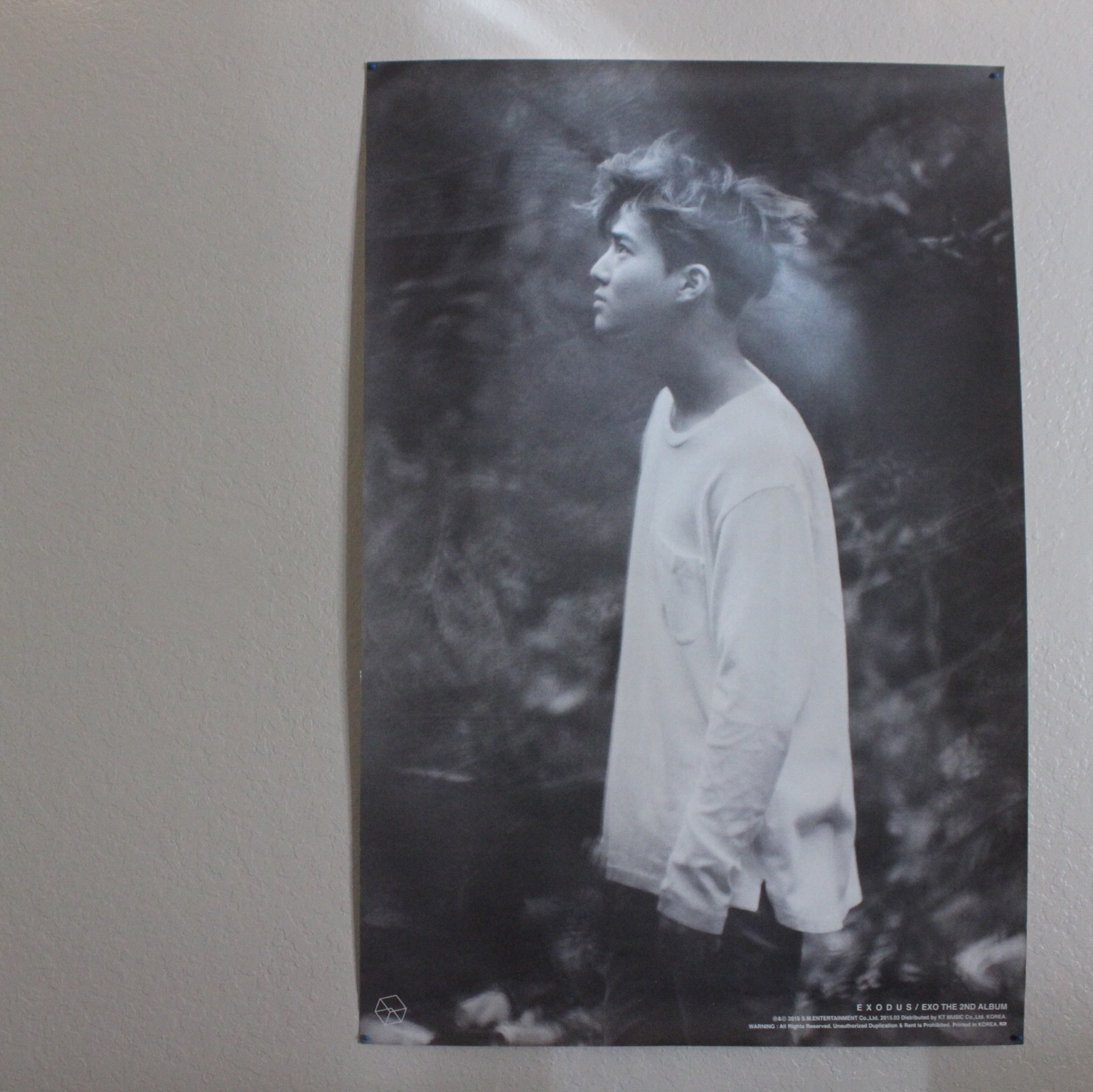 EXO Exodus poster Suho ver  - 92 x 61 cm Official    - Depop