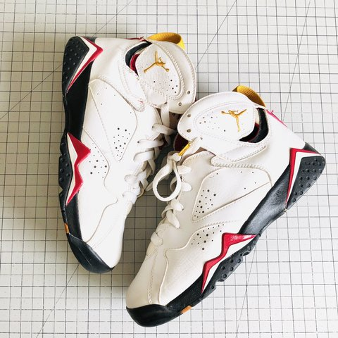 8fa46123563 2006 Retro Jordan 7 Cardinal OG Collection Original 5.5 . - Depop