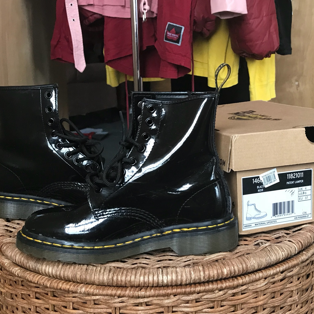 Hey! Dr Martens 1460 boot in Black