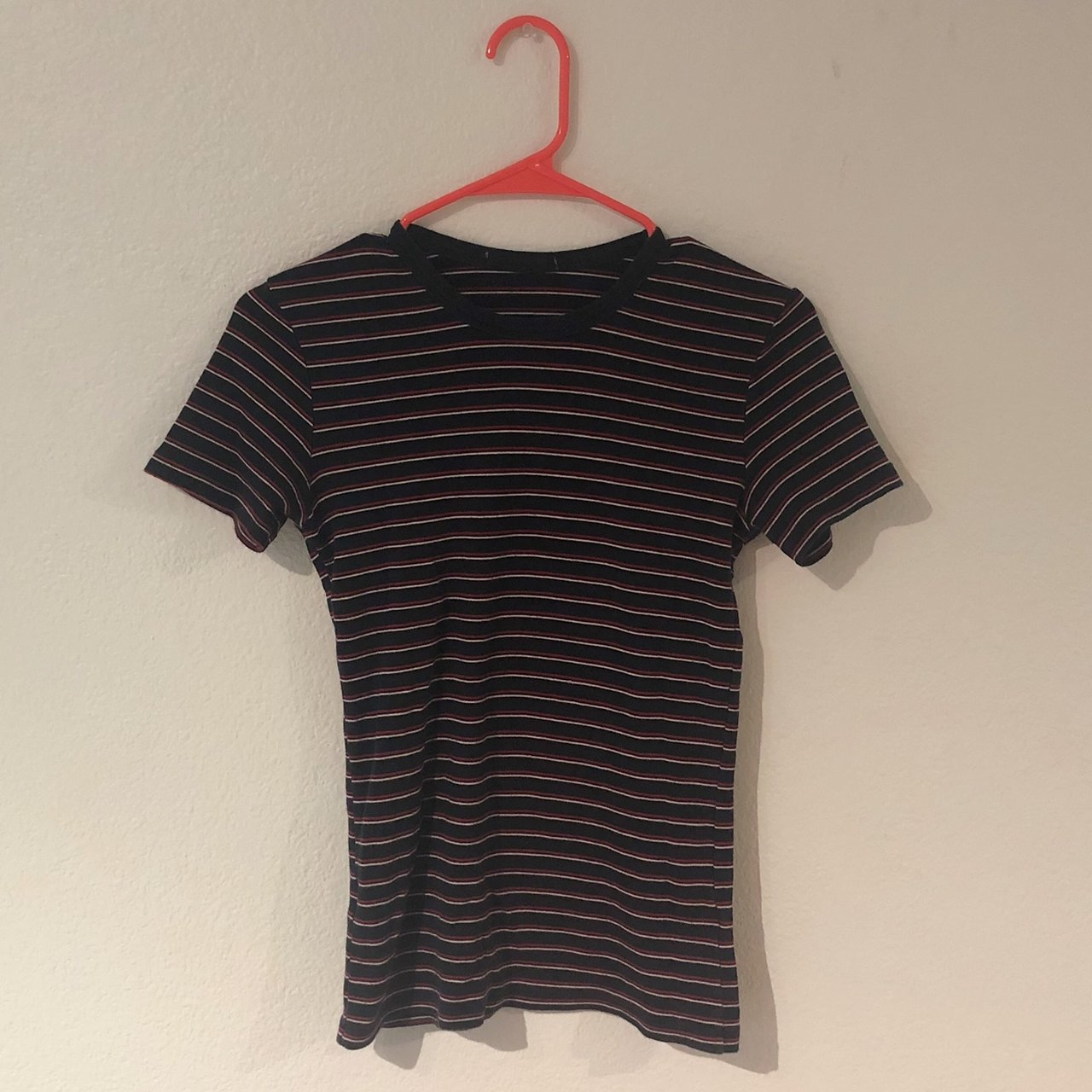 75f34708618 🎆🌜STRIPED BRANDY TEE🌛🎆 would fit from