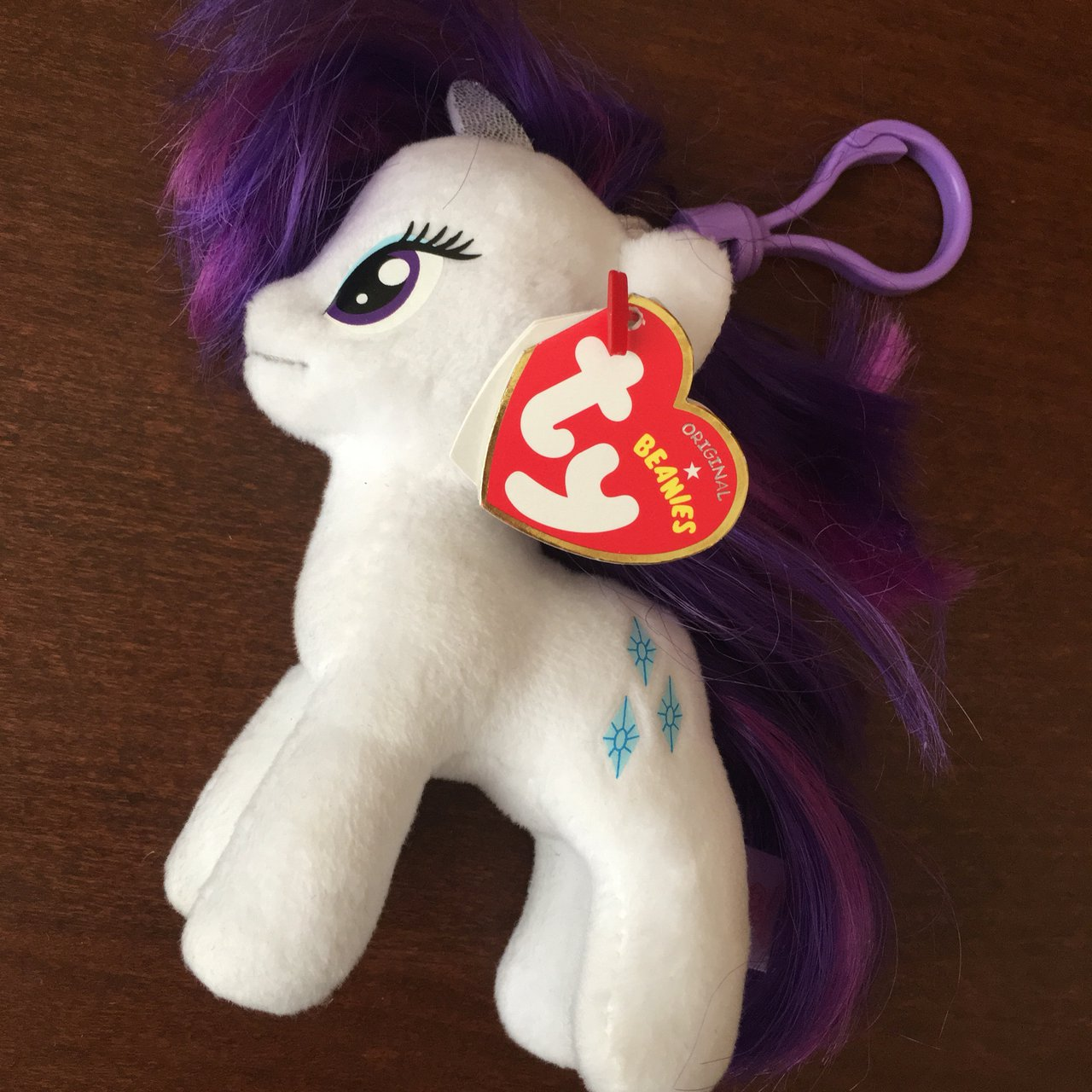 3093aae2999  geekclique. last year. United Kingdom. ✨ My Little Pony TY Beanie Baby ...