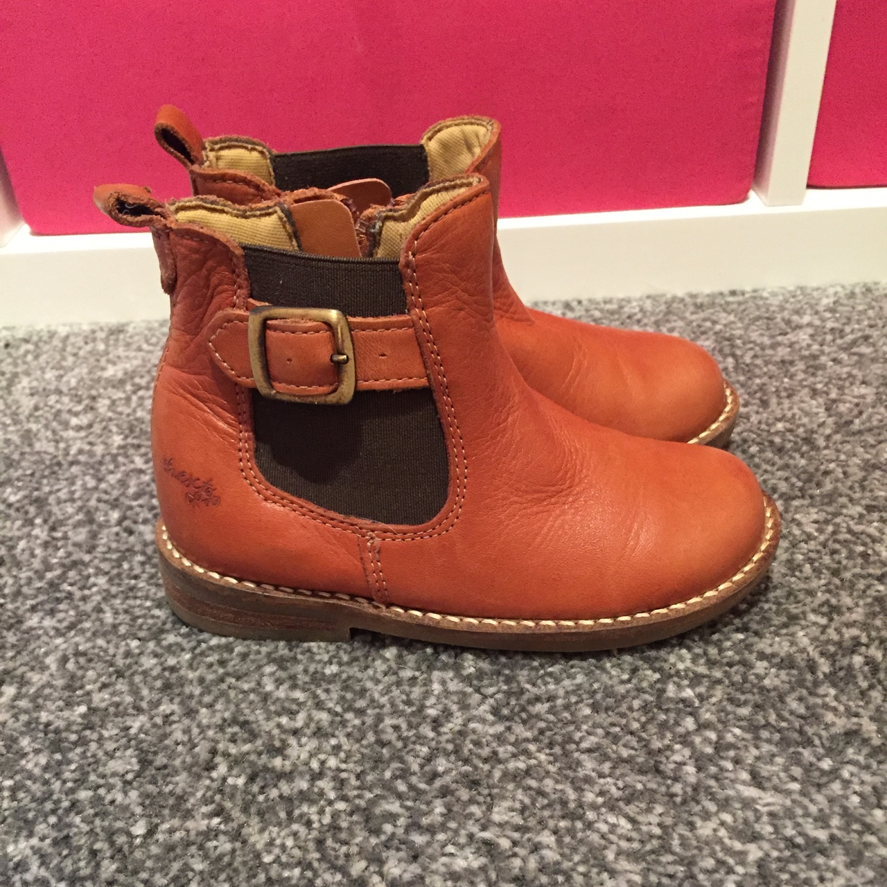 Infant girls next Chelsea boots size 8