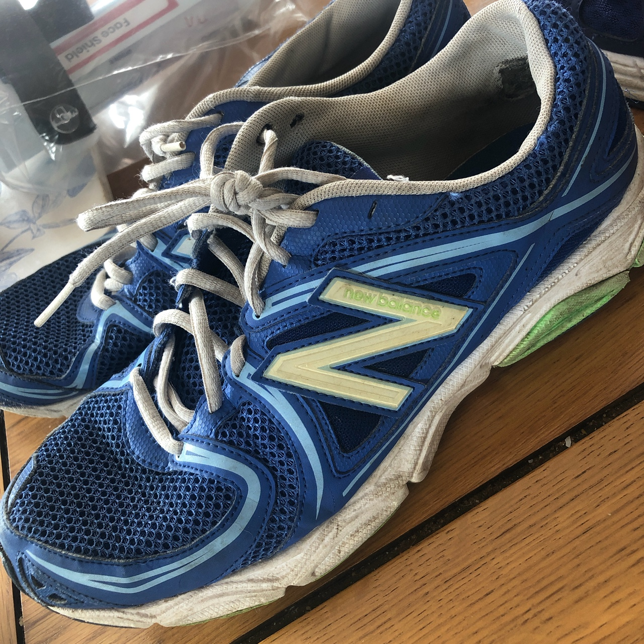 New Balance trainers size 8, Worn quite a few times,...