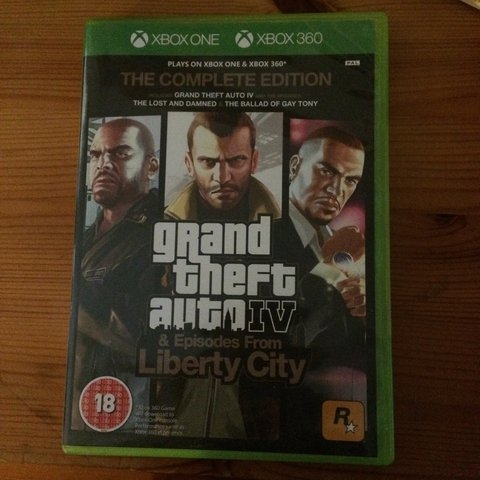 grand theft auto iv the complete edition - xbox 360 xbox one