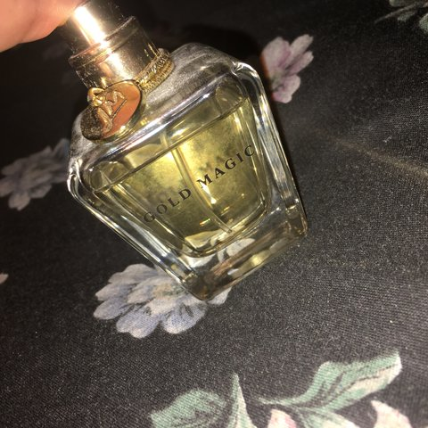 Little Mix Gold Magic Perfume Only A Little Bit Used Love Depop