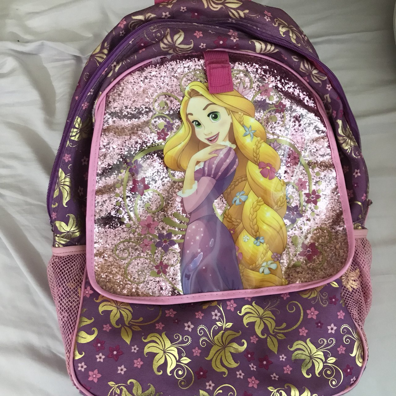 Disney RAPUNZEL Pink All in One NWT