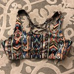 4dc614b323023 PACT Crossover Bralette Size   S. Worn once. v-shape for   - Depop