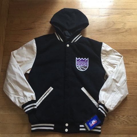 Sacramento Kings Reversible Bomber Jacket Brand new with a - Depop 423a01e8bf
