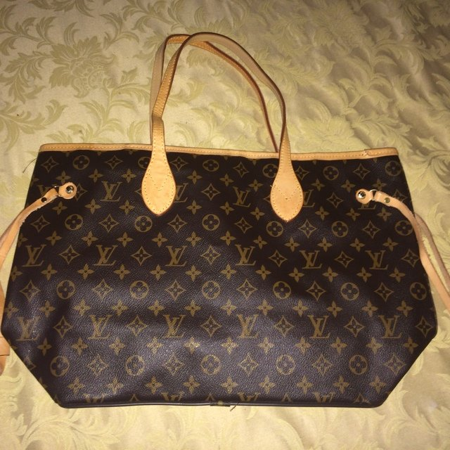 9e90148498 Vendo borsa simil louis vuitton neverfull, regalo non - Depop