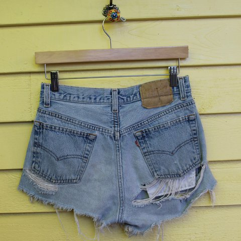 38e29c570a8ec4 @reclaimthreads. last year. Saint Petersburg, Pinellas County, United  States. VINTAGE Levi's Cut Off Denim Shorts - Daisy Dukes