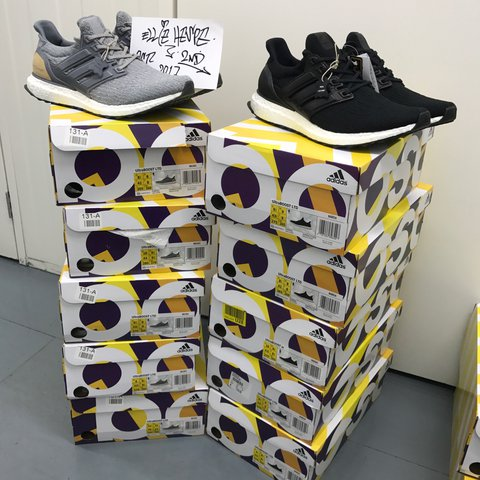 official photos 4cba1 e04a0 loverofsoles1111. last year. Manchester, United Kingdom. – BA8924 – adidas  Ultra Boost 3.0 LTD