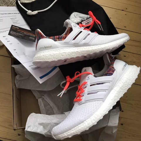 49ce48ad364a7 ... australia adidas ultra boost rainbow uk 9 eu 43.33 us 9.5 official of  depop 181a0 09fab