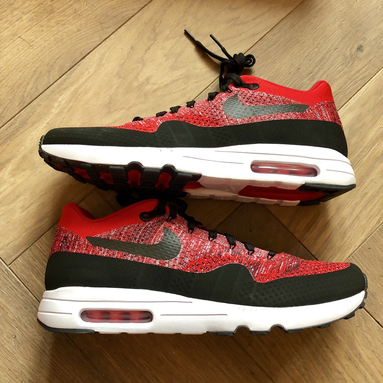 nike air max 1 ultra 2.0 flyknit red