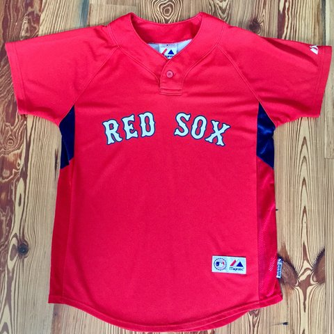 c36d24918 Boston Red Sox Jersey David Ortiz  34 Authentic Majestic a - Depop