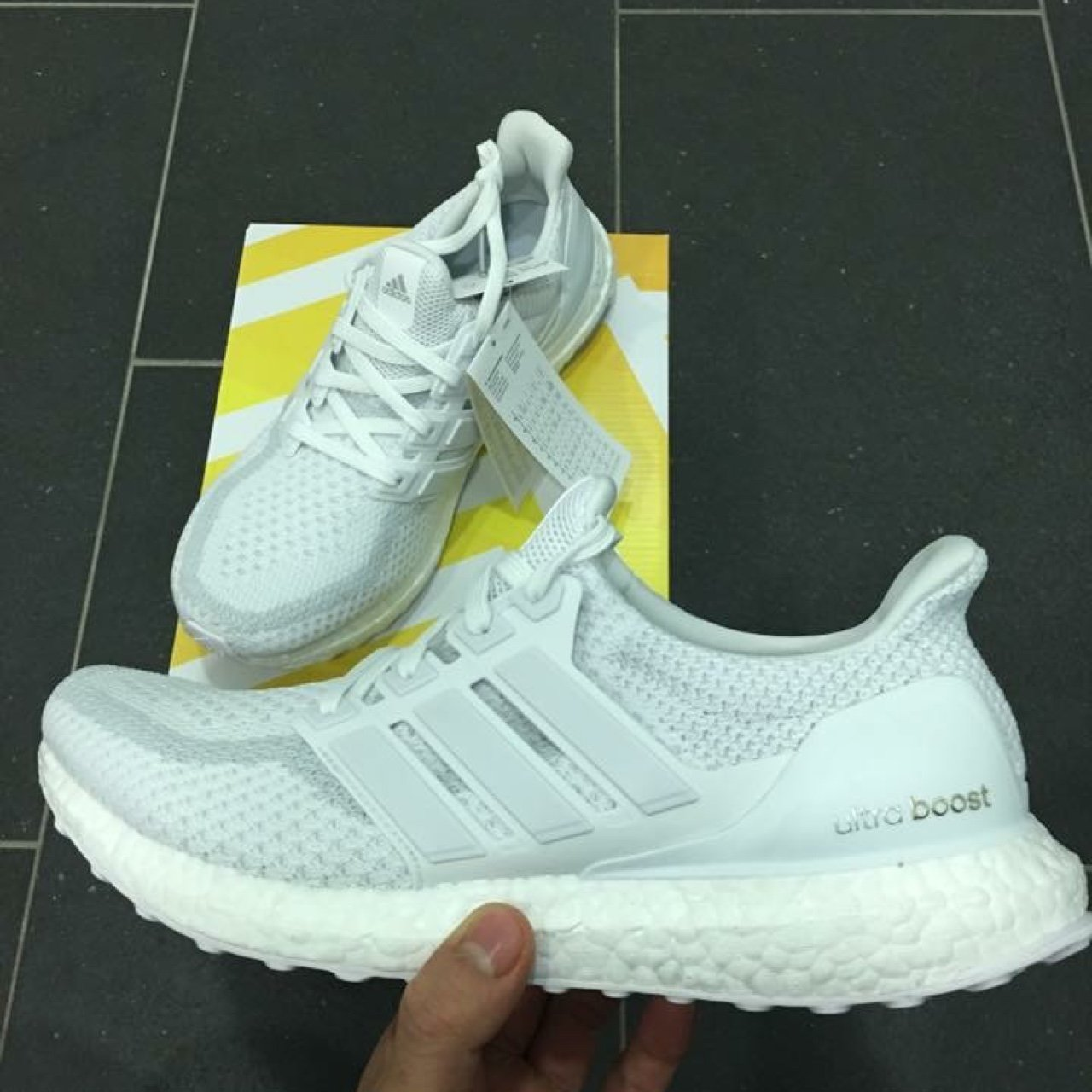Brand New Under RRP!!!! Adidas Ultraboost Triple White 2.0 - Depop a7b69cab7