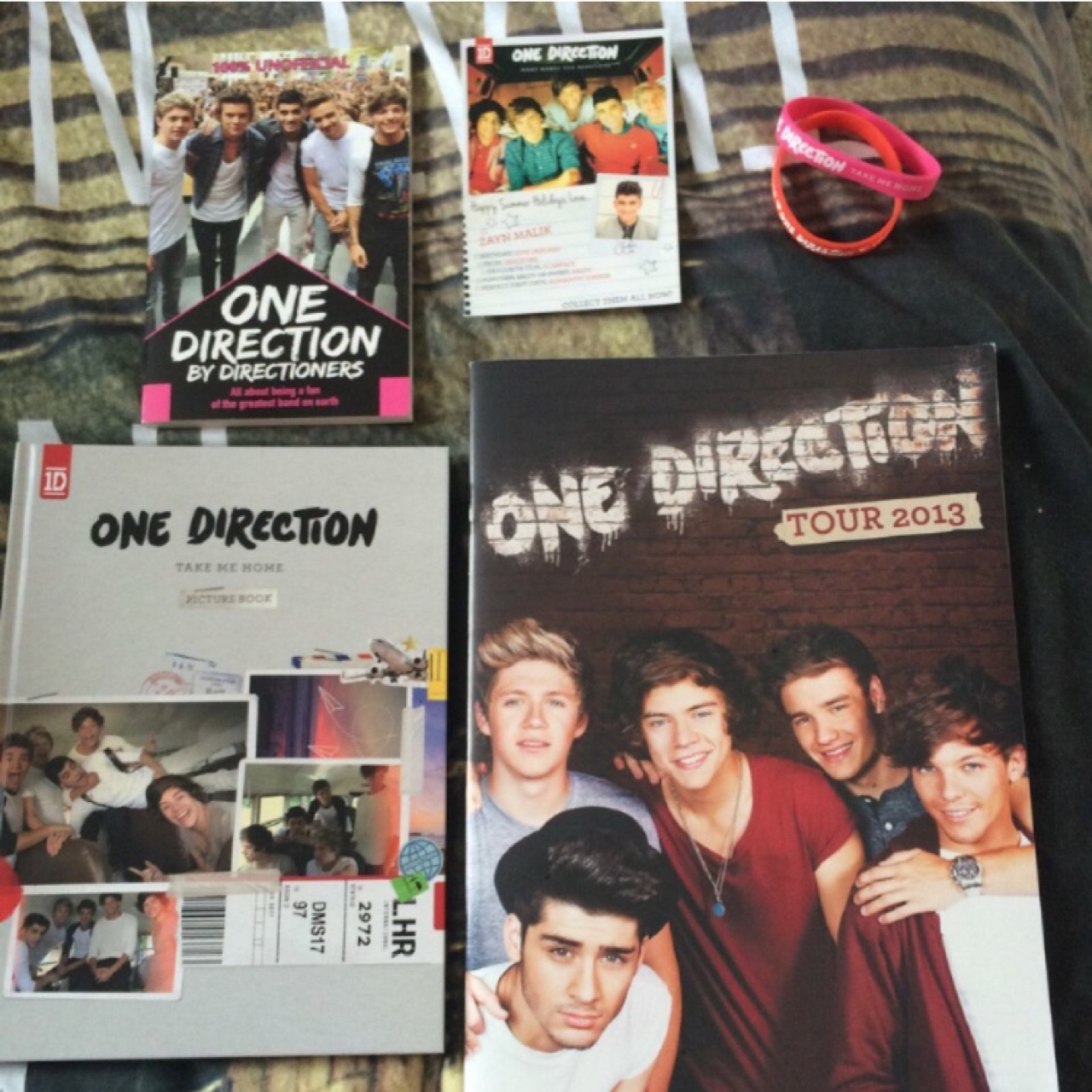 One Direction Take Me Home Limited Edition Box Set    - Depop