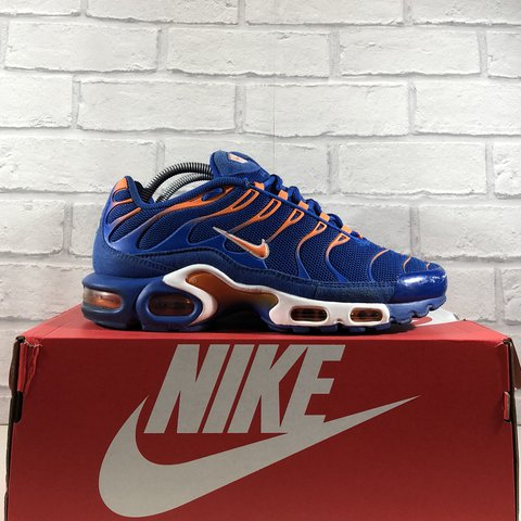 ... promo code for nike air max plus tn knicks size uk7.5 year 2015 box 35a229f93