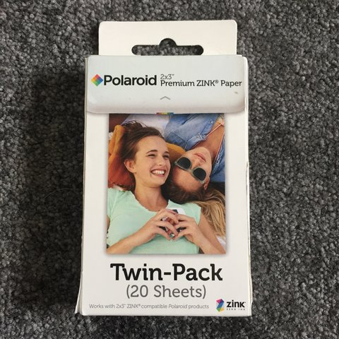 Rrp Is 10 Polaroid 2x3 Premium Zink Paper Twin Pack 20 Depop