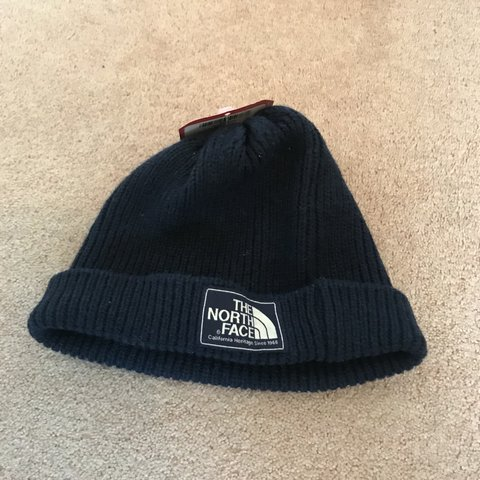 cf300632c76c4 Men s North Face Shipman Beanie Navy Size Small