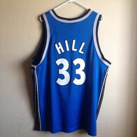 abb307ad424 ... norway orlando magic grant hill jersey nike. size xl. good old 5 depop  fa2f2