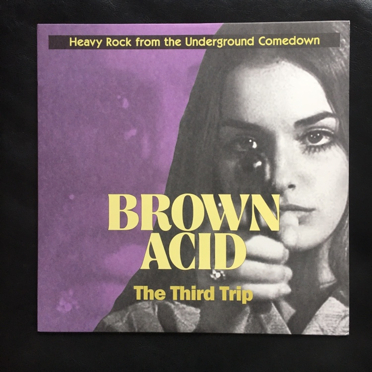 BROWN ACID part 3 compilation colored VINYL album    - Depop