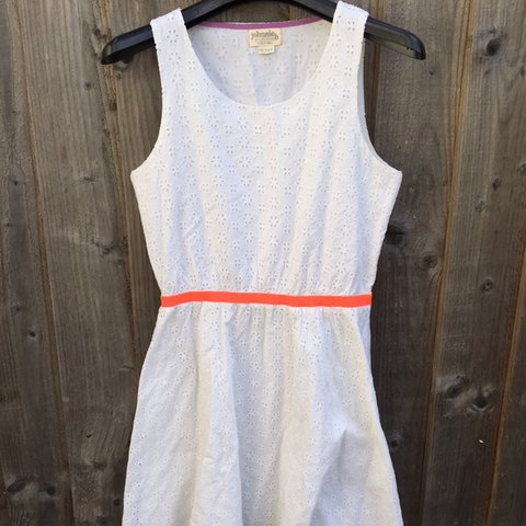 c45007774f Beautiful pure white broderie anglaise Boden girls summer - Depop