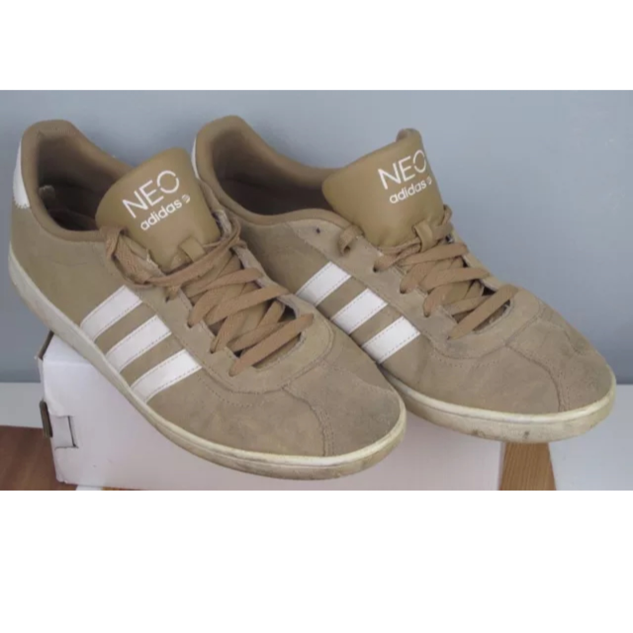 mens adidas neo label trainers size UK 10 US 10.5...