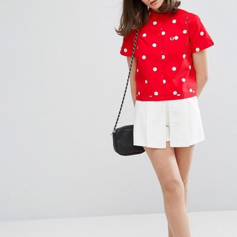 190a2393c  ela9. 8 months ago. United Kingdom. Fred Perry Amy Winehouse Foundation  Red Polka Dot ...