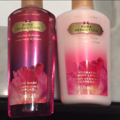 9b73b50fdd3 100% New Victoria s Secret Body Wash   Hydrating Body Lotion - Depop