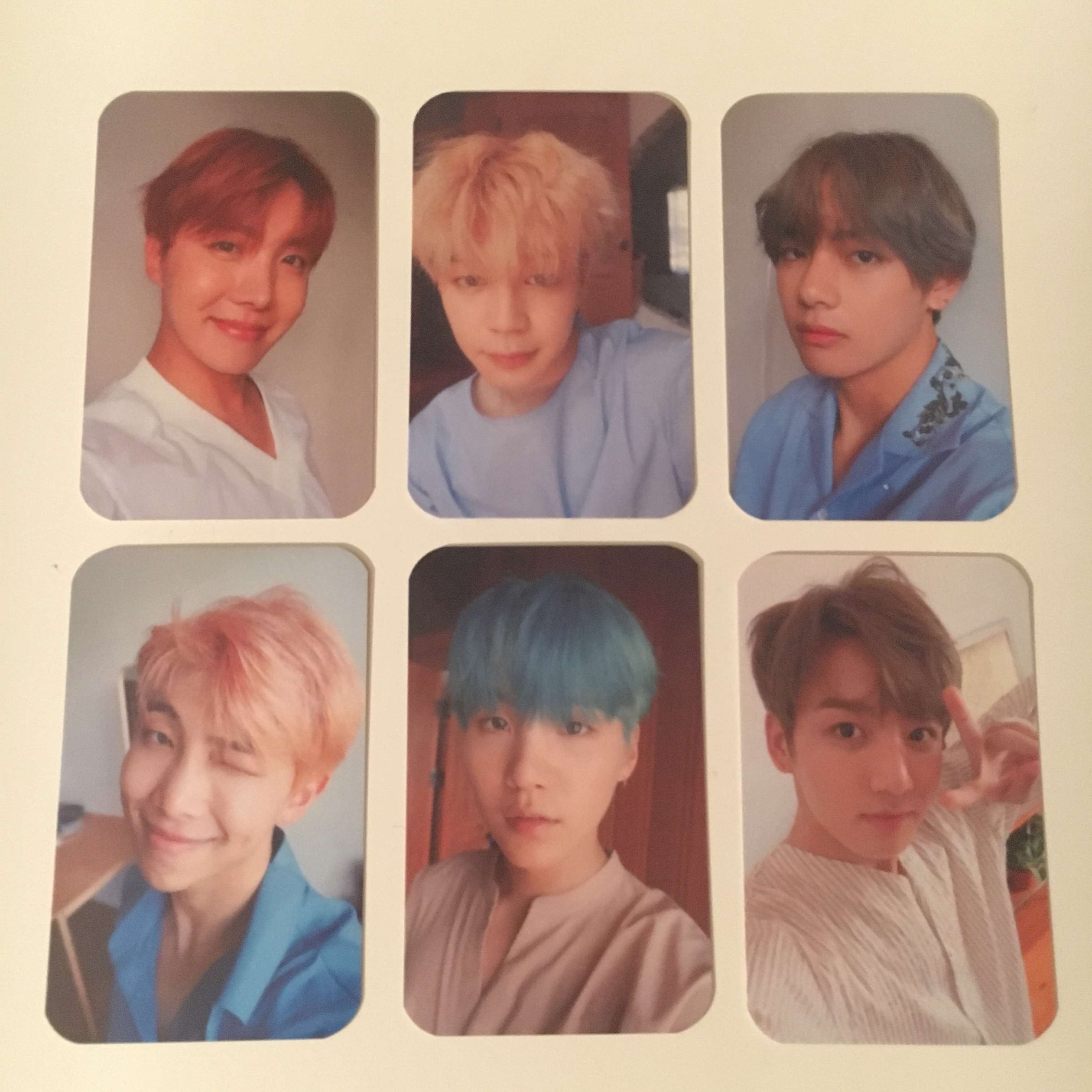 Bts Love Yourself Her Unofficial Photocards L Depop