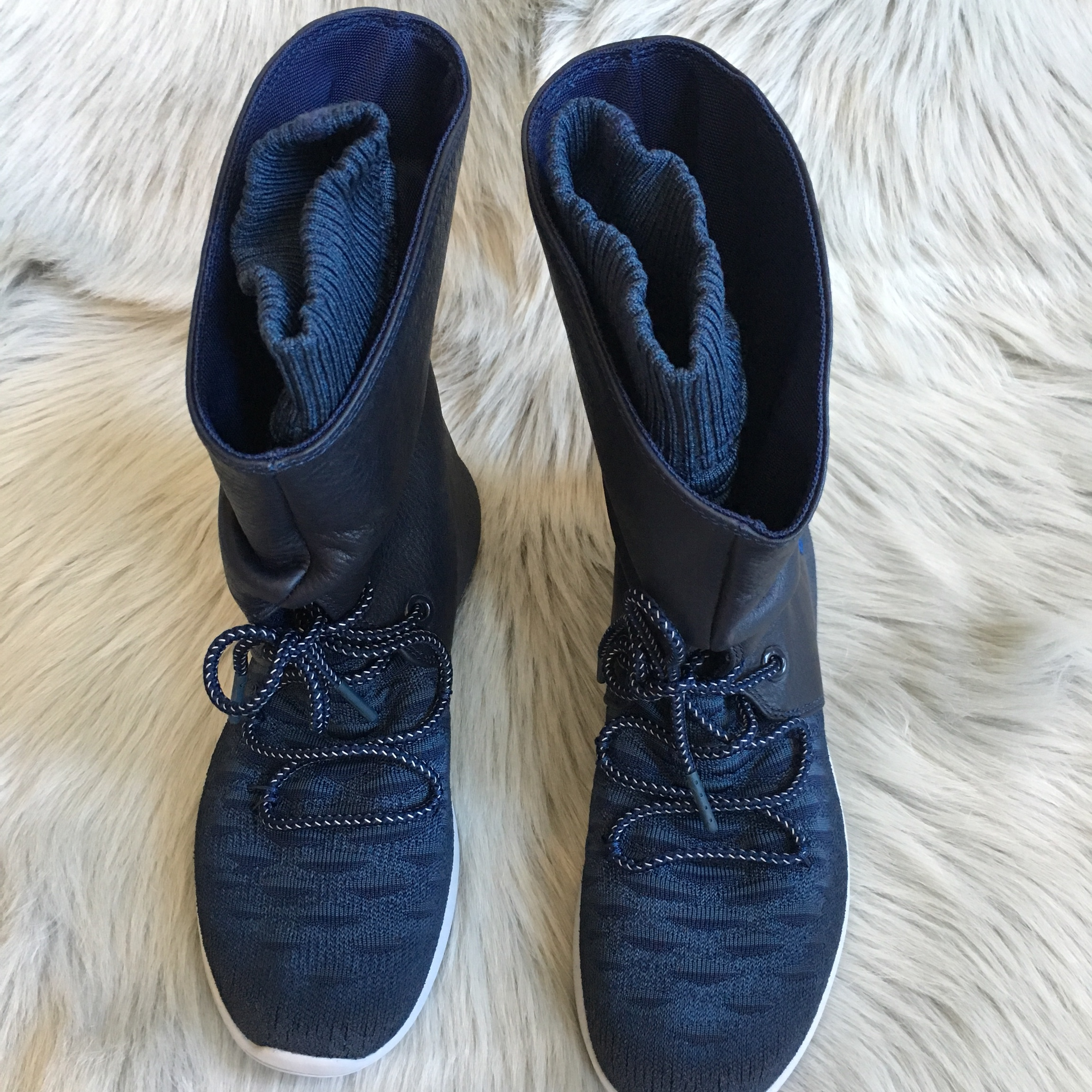 official photos 80996 77048 Nike Roshe Two Hi Flyknit Sneakerboots ✨Brand New... - Depop