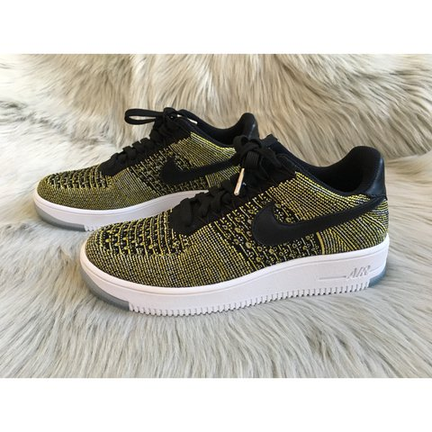 78573dfe7df3 New Nike AF1 Flyknit Low ✨Brand New With Box Without Lid✨ - Depop