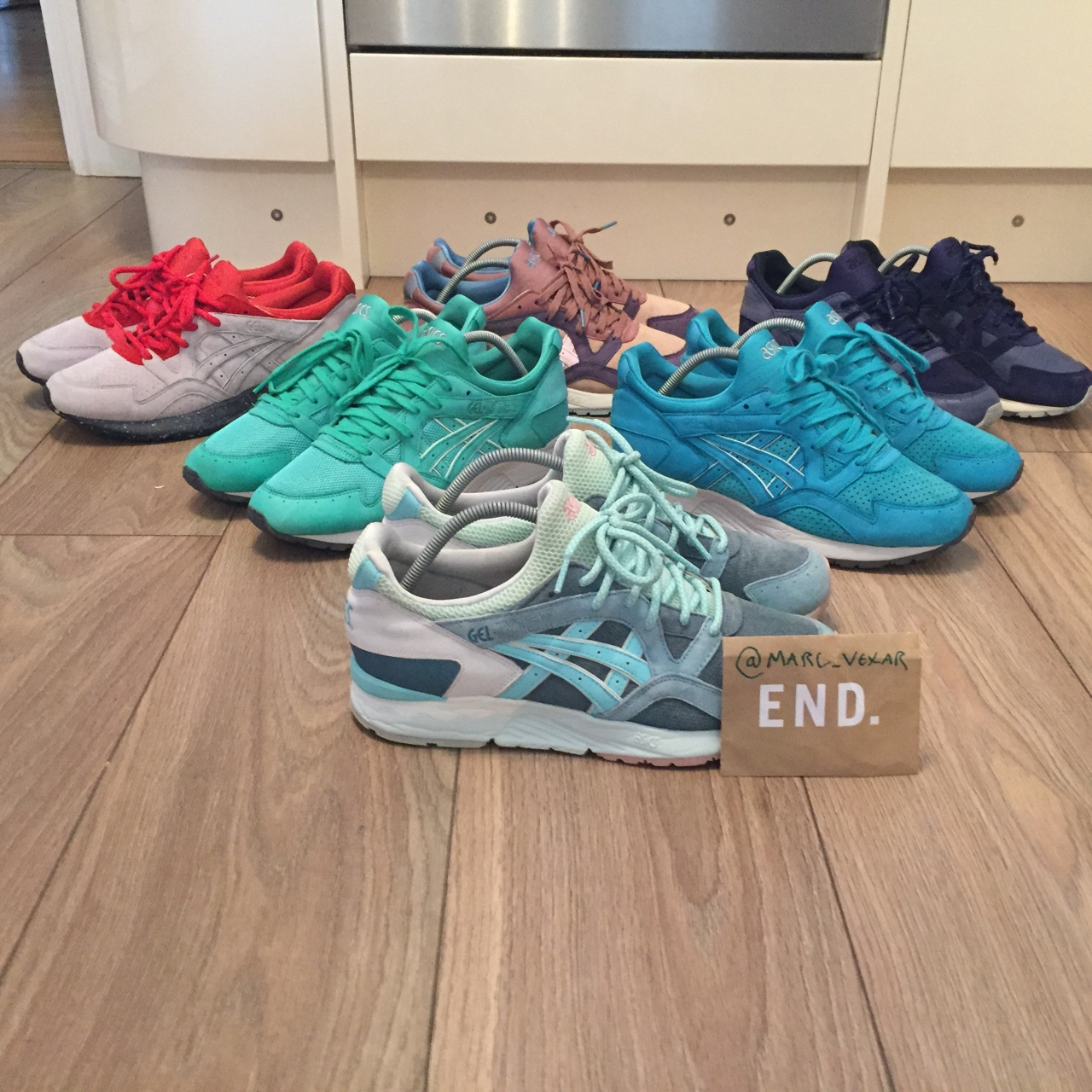 cheap for discount 44bd6 4b6b6 Asics GLV WTS Shipping double boxed £8 uk £20... - Depop